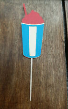 ICEE or Slushie Style Cupcake Toppers!! Lot of 12