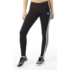19c265e232b81 adidas 3-Stripes Leggings - Green - Red -Black -Pink