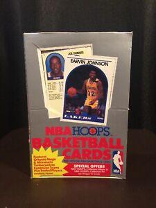 1989-1990 HOOPS Basketball Series 2 Wax box