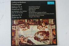 Beethoven Sinfonien 9 und 2 Kurt Masur Gewandhausorchester Leipzig (LP29)