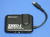 SNK Neo Geo XNEO-1 Analog RGB S Video Unit MICOMSOFT Import Japan