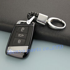 TPU Black Key Chain Holder For Volkswagen Passat Arteon Atlas Jetta Accessories