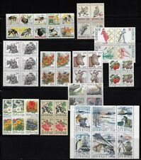 Sweden: Lot of differents blocks, flora + fauna+ Sports + motorc, MNH EBSE04