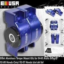 EMUSA Billet Engine Torque Mount Kit fit 94-01 Acura lntegra D15 D16 B16 B18 B20
