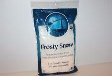 Frosty Snow Realistic Decorative Snow 3.5 Quarts Arts Crafts Decoration
