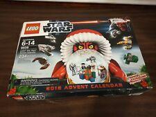 Damaged box LEGO Star Wars 2012 ADVENT CALENDAR 9509 Sealed bags