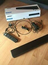 Bose Solo 5 Sound bar TV Soundsystem mit Fernbedienung schwarz