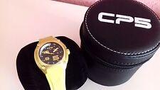 Nuevo - Reloj Watch Montre CP5 Sport - Aluminum Case - Quartz - Yellow - Size S