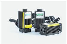 Focusable haute puissance 1W 1000mW bleu gravure laser module réglable 12V 450nm