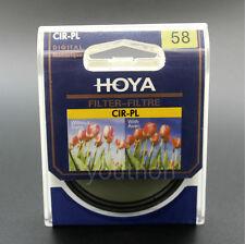 HOYA 58mm CIR-PL CPL Ultra-thin Circular Polarizer Filter fit for Camera Lenses