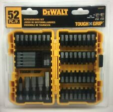 DeWalt 52 Piece Screwdriver Bit Set Power Tools Hole Steel Step Bits Wood Metal