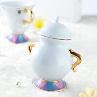 Beauty And The Beast Tea Set Teapot Mrs Potts Pot Chip Cup Mug Sugar Pot QUALITY