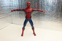 "Marvel 2017 Spiderman 12"" Action Figure Homecoming Tech Suit Avengers Talks"