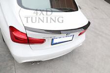 Real Carbon Fiber Rear Trunk Spoiler Lip FOR BMW F30 M4 3 Series Sedan 4-D 2014+