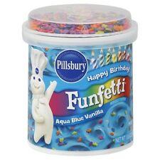Pillsbury funfetti AQUA BLUE glassa alla vaniglia 442g