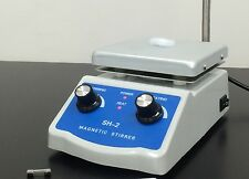 NEW Sale Price Hot Plate Magnetic Stirrer Dual Control + 1 inch Stir Bar  C3