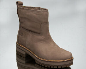 Timberland Courmayeur Valley Women's Taupe Warm Winter Lifestyle Shoes Boots