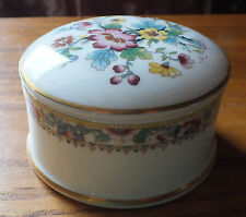 Coalport trinket box   Ming Rose design