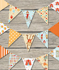 CIRCUS BUNTING - CHILDRENS PLAY ROOM / BEDROOM / HOME/ BIRTHDAY-18 FLAGS!!