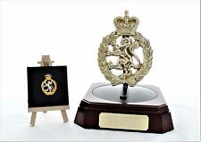 WRAC: Presentation Set with Octagonal Base 3 - (Engraving Included)