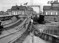7x5 Gloss Photo ww4E8 Normandy English Channel Cherbourg 1944 161