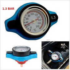 Car Thermostatic Gauge Radiator Cap 1.3 bar Small Head Water Temp Meter