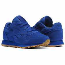 Infant Boys Reebok Classic Leather Trainers in Blue