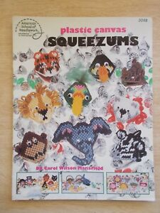 Plastic Canvas Squeezums~ASN #3048~Assorted Gifts~1987~17pp