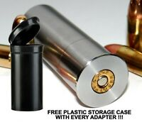 12GA to 9MM Luger Shotgun Adapter - SMOOTH BORE-Stainless - Free Case & Shipping