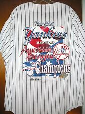 VINTAGE MLB 1996 NEW YORK YANKEES AMERICAN LEAGUE CHAMPIONS WORLD SERIES JERSEY