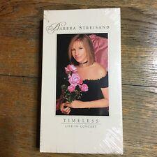 Barbra Streisand Timeless Live In Concert VHS New Sealed