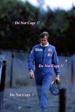 Ronnie Peterson March F1 Portrait Belgian Grand Prix 1976 Photograph