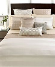Hotel Collection Woven Cord Quilted Standard Pillow Sham Gold Bedding B581