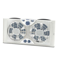 Holmes Dual Blade Window Fan With Comfort Control Thermostat HAWF2041-N