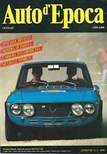 Auto d'Epoca n. 1  del 1990 :Carrera Panamericana, Mugello, Speciale Revelli, ..