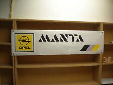 Opel Manta workshop banner.Manta A, B GTE.. etc