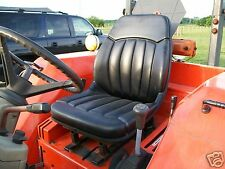 NEW BLACK HIGH BACK SEAT FOR OLDER KIOTI DK35 & DK40 COMPACT TRACTORS #AC