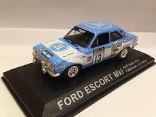 IXO ALTAYA 1/43 Ford Escort MK1 RAC Rally 1973 T.Makinen H.Liddon