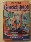 Goosebumps by R.L. Stine - #62 Monster Blood IV - RARE!!