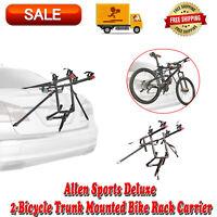 2 Bike Trunk Rack Rear Mount Two Bikes Carrier Car SUV Bicycle Sedans Sturdy NEW
