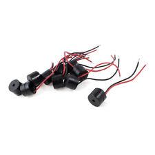 10pzs DC 12V Zumbador electronico activo conector de alambre 85dB L2Q6
