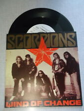 SCORPIONS SP 45t WIND OF CHANCE RESTLESS NIGHTS