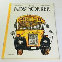 The New Yorker: September 9 1974 Full Magazine/Theme Cover James Stevenson