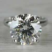 3.0Ct Round Cut Brilliant Diamond Solitaire Engagement Ring 950 Platinum Ring