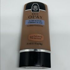 Oil Of Olay 92 Dark Honey All Day Moisture Liquid Foundation Normal to Dry NEW!!