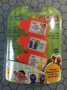 NEW RARE SESAME STREET KID CLIPS Music Chips 3-Pack ERNIE GROVER BIG BIRD