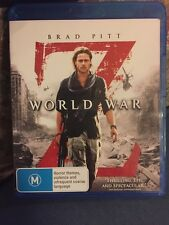 World War Z, Blu-ray, Free Post!! Brad Pitt