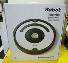 ROBOT ROOMBA 670 Vacuum Cleaner Robot Wi-Fi for clean floors BRAND NEW