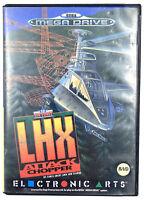 EA Air Force LHX Attack Chopper - Jeu Sega Megadrive - Sans notice - PAL