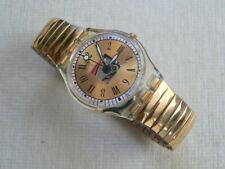 1997  Swatch Watch Standard Big Nomisma GK256 Roman numbers